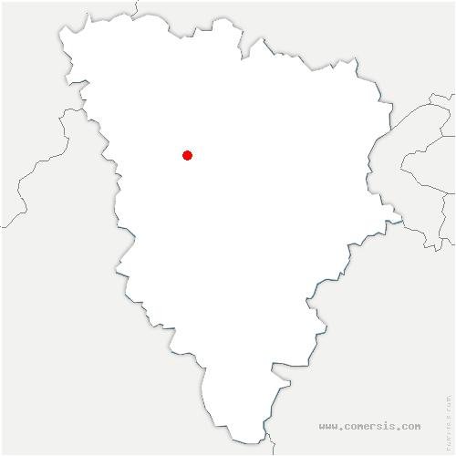 carte de localisation de Goupillières