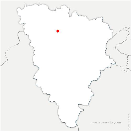 carte de localisation de Goussonville