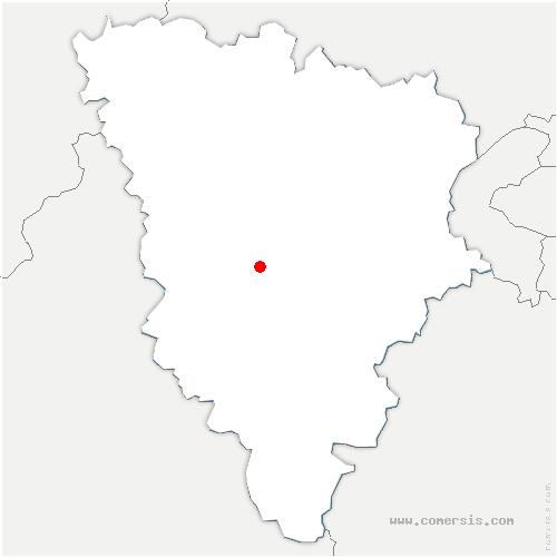 carte de localisation de Grosrouvre
