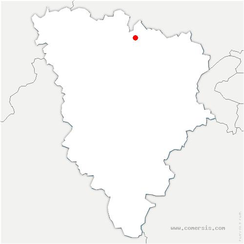 carte de localisation de Hardricourt
