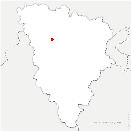 carte de localisation de Hargeville