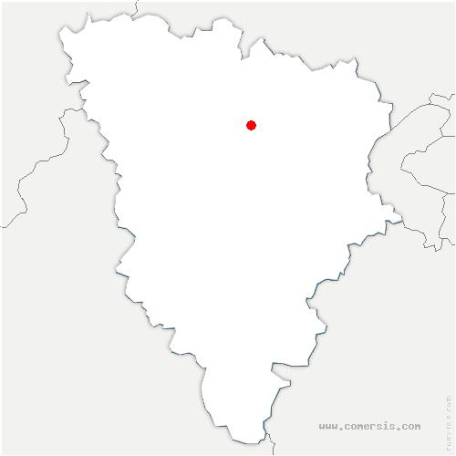 carte de localisation de Herbeville