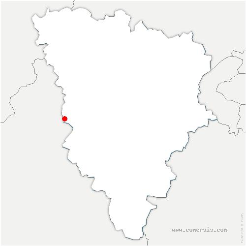 carte de localisation de Houdan