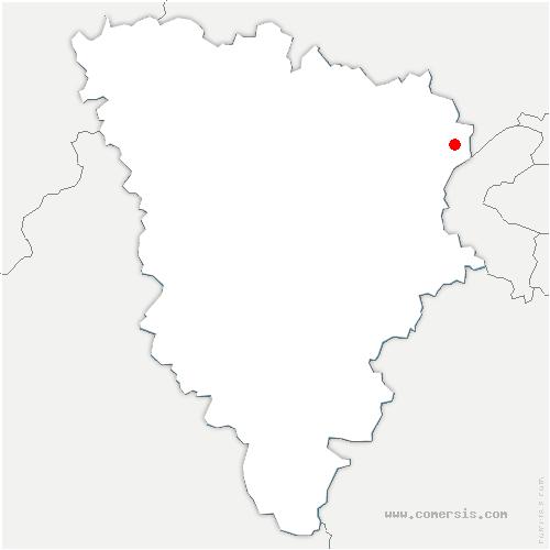 carte de localisation de Houilles