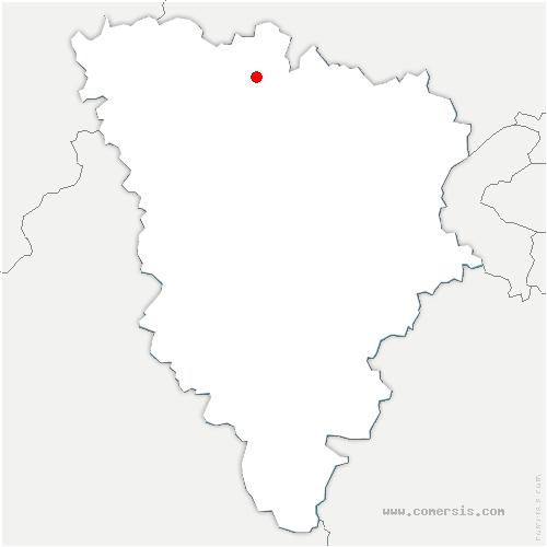 carte de localisation de Issou