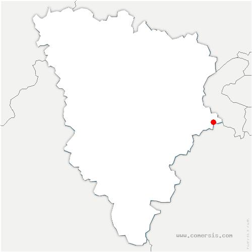 carte de localisation de Jouy-en-Josas