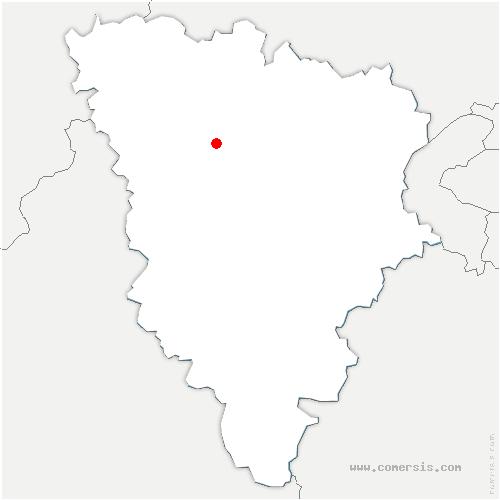 carte de localisation de Jumeauville