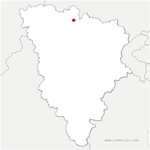 carte de localisation de Juziers