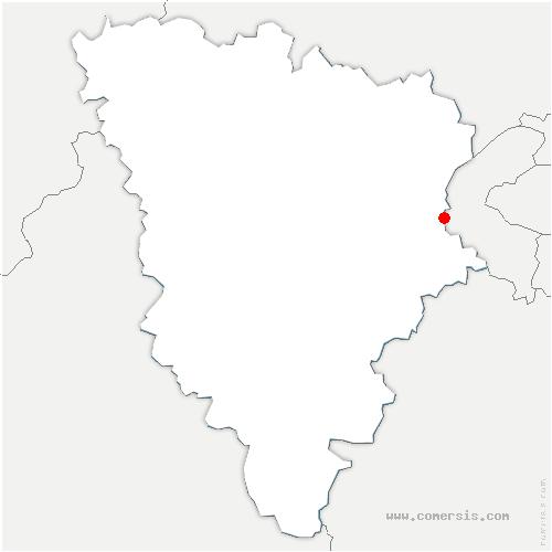 carte de localisation de Le Chesnay-Rocquencourt
