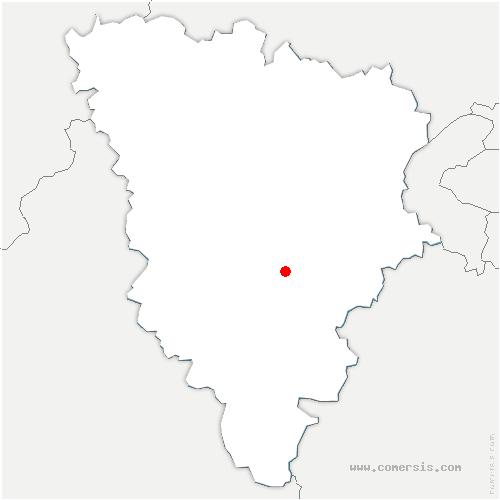 carte de localisation de Lévis-Saint-Nom