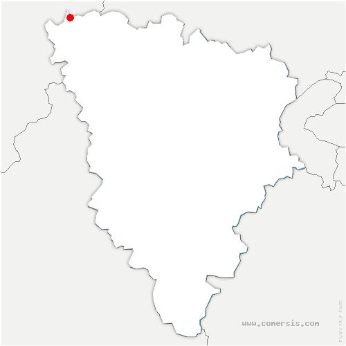carte de localisation de Limetz-Villez