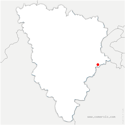 carte de localisation de Loges-en-Josas