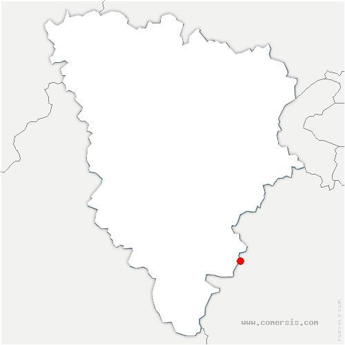 carte de localisation de Longvilliers