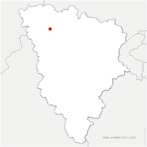 carte de localisation de Magnanville