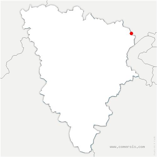carte de localisation de Maisons-Laffitte