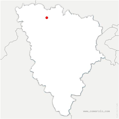 carte de localisation de Mantes-la-Jolie
