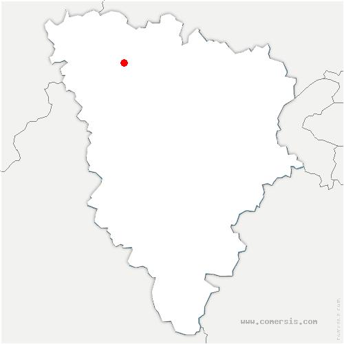 carte de localisation de Mantes-la-Ville