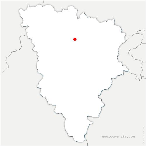 carte de localisation de Maule