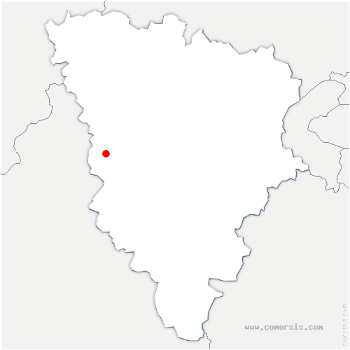 carte de localisation de Maulette