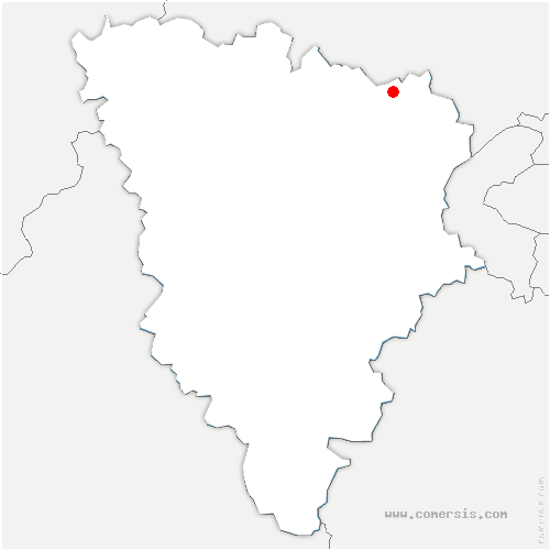 carte de localisation de Maurecourt