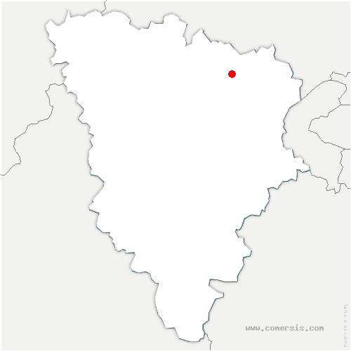 carte de localisation de Médan