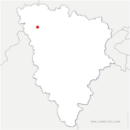 carte de localisation de Ménerville