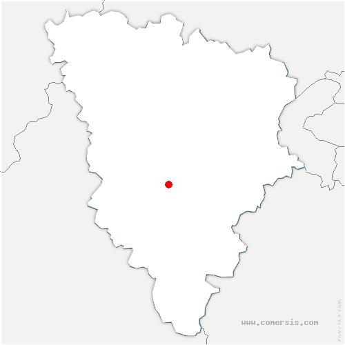 carte de localisation de Mesnuls