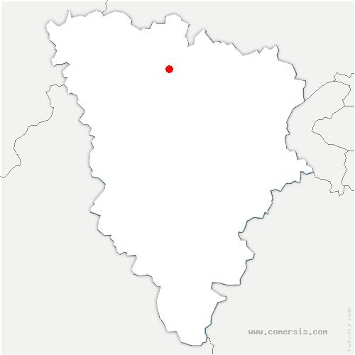 carte de localisation de Mézières-sur-Seine