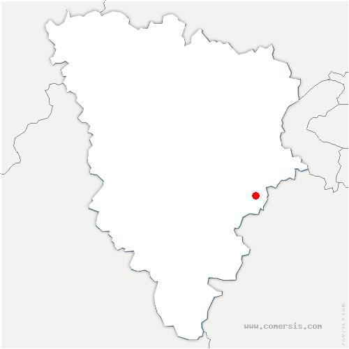 carte de localisation de Milon-la-Chapelle