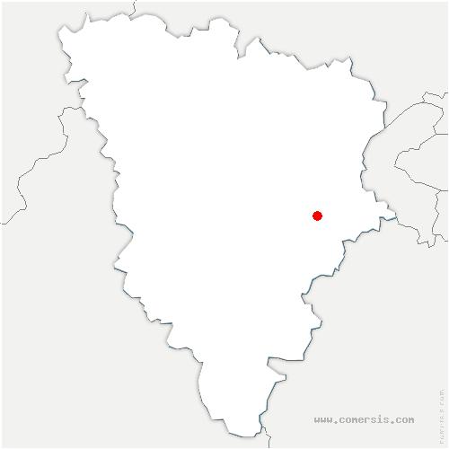 carte de localisation de Montigny-le-Bretonneux