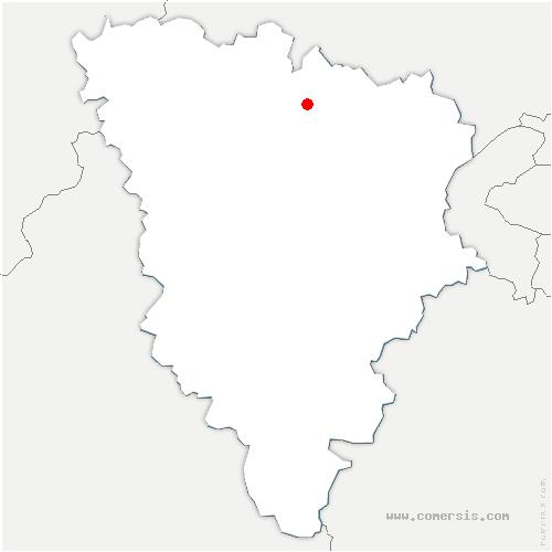 carte de localisation de Mureaux