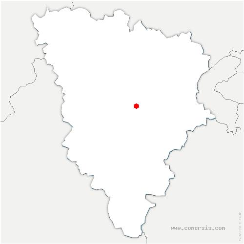 carte de localisation de Neauphle-le-Château