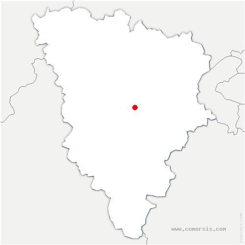 carte de localisation de Neauphle-le-Vieux