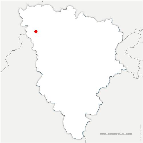 carte de localisation de Neauphlette