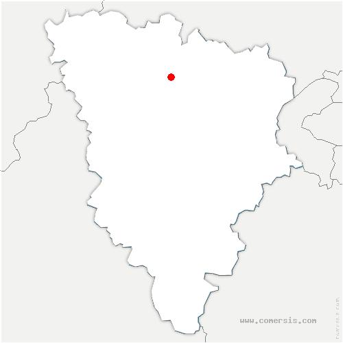 carte de localisation de Nézel