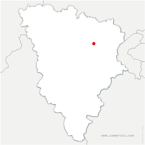 carte de localisation de Orgeval