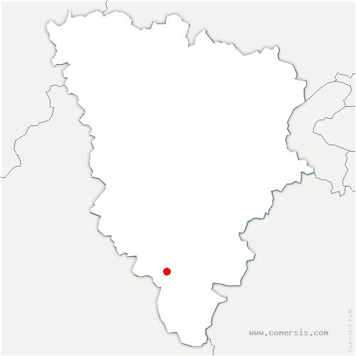 carte de localisation de Orphin