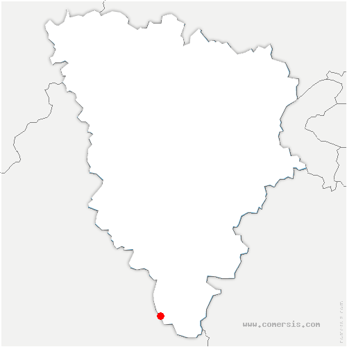 carte de localisation de Orsonville