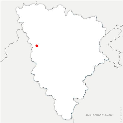 carte de localisation de Orvilliers