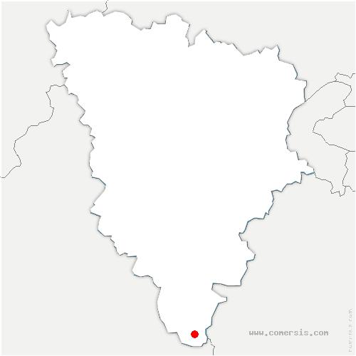 carte de localisation de Paray-Douaville