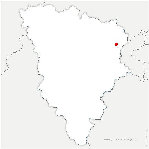 carte de localisation de Pecq