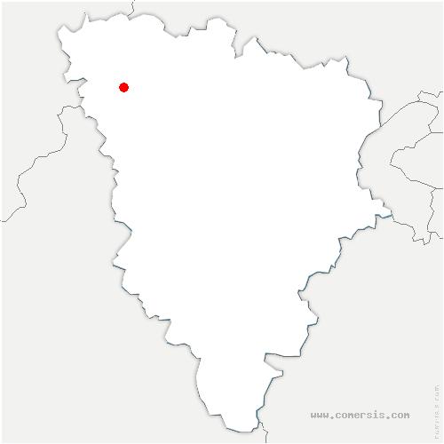 carte de localisation de Perdreauville