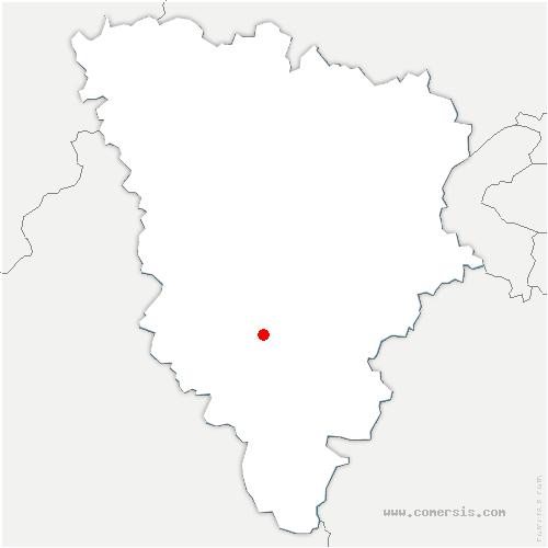 carte de localisation de Perray-en-Yvelines