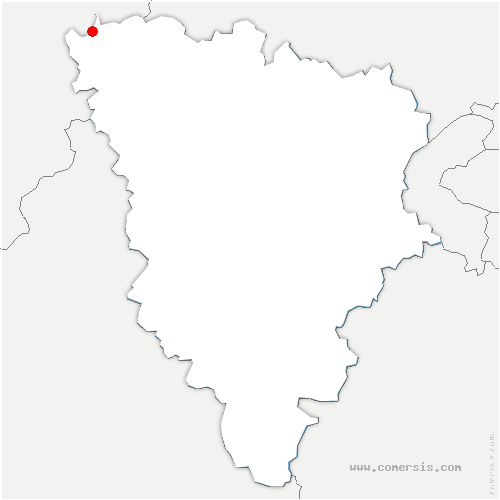 carte de localisation de Port-Villez