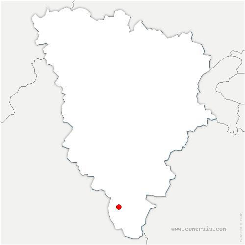 carte de localisation de Prunay-en-Yvelines
