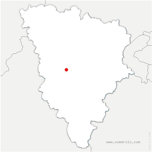 carte de localisation de Queue-les-Yvelines