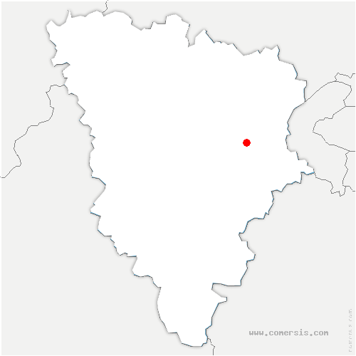 carte de localisation de Rennemoulin