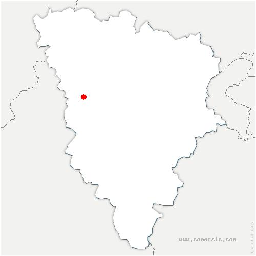carte de localisation de Richebourg