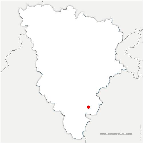 carte de localisation de Rochefort-en-Yvelines