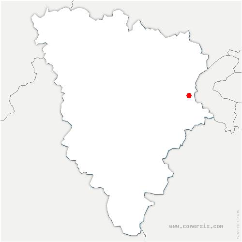 carte de localisation de Rocquencourt